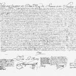 149 Lettres Patentes de Louis XV