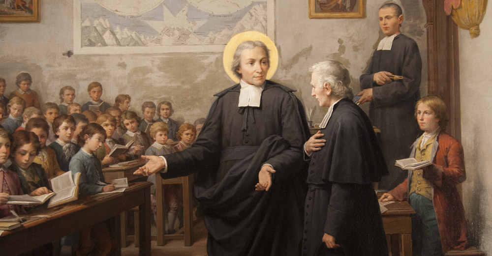 St. John Baptist de La Salle – La Salle Worldwide | lasalleorg | Rome