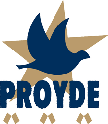 Questa immagine ha l'attributo alt vuoto; il nome del file è PROYDE_logo_wikipedia.png